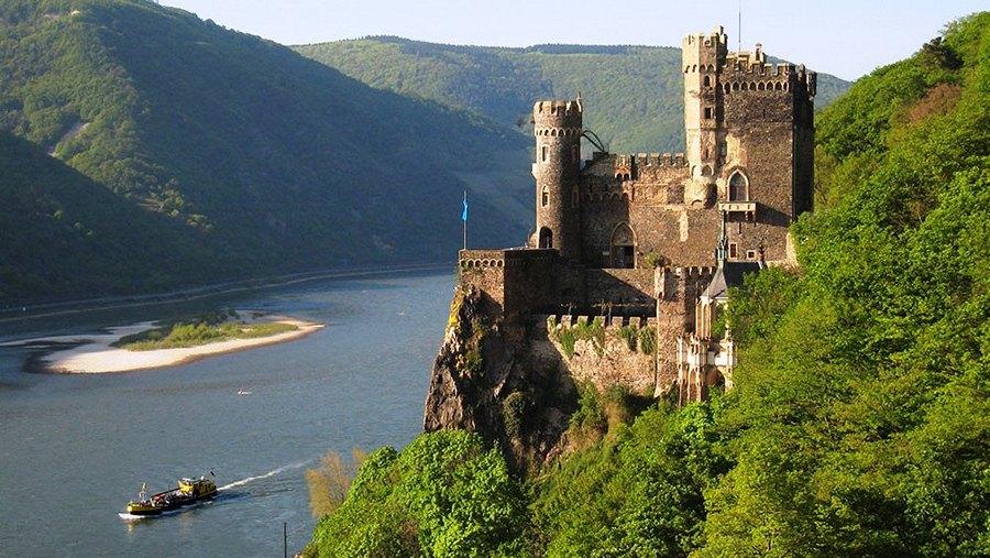 Замки Германии. Замок Райнштайн - Burg Rheinstein