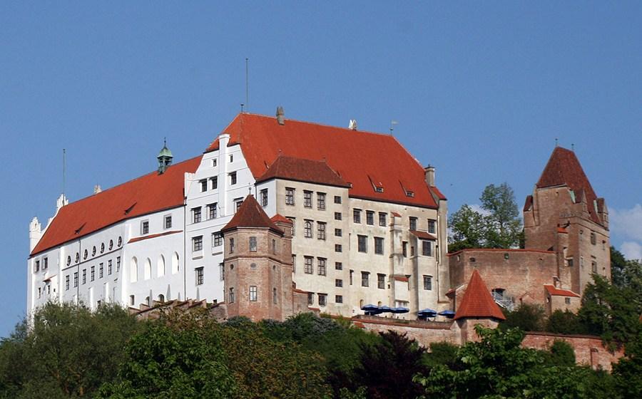 Замки Германии. Замок Траусниц - Burg Trausnitz