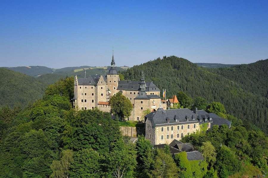 Замки Германии. Замок Лауэнштайн - Burg Lauenstein