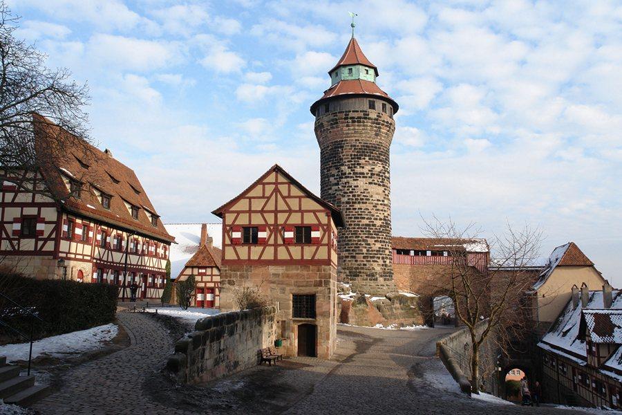 Замки Германии. Императорский замок Кайзербург - Nürnberger Burg