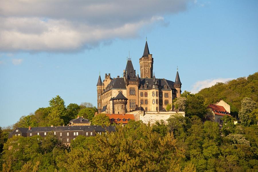 Замки Германии. Замок Вернигероде - Burg Wernigerode
