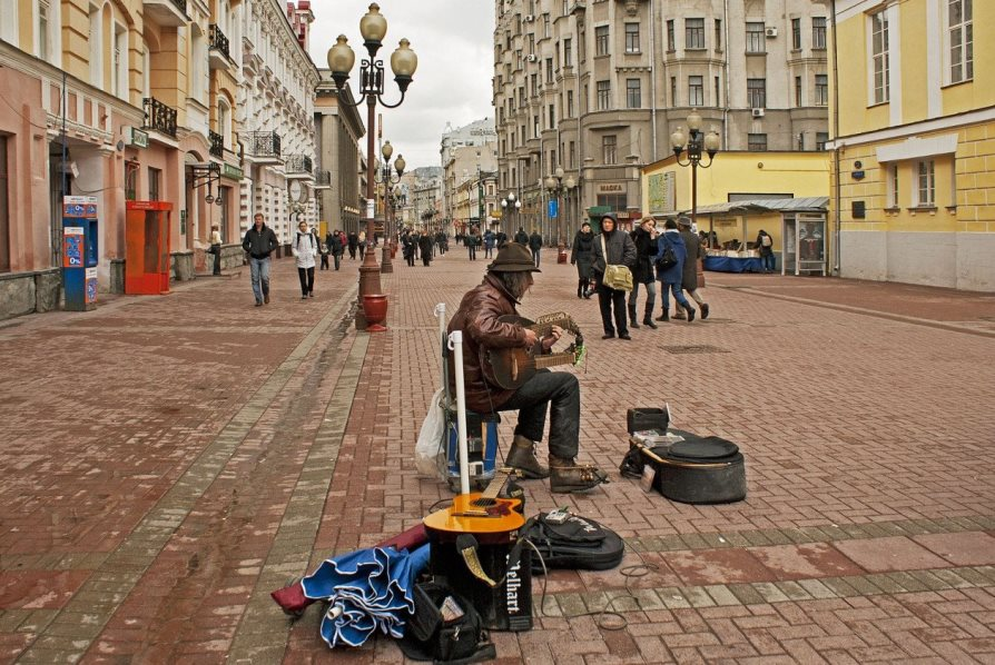 Достопримечаетльности Москвы: улица Арбат