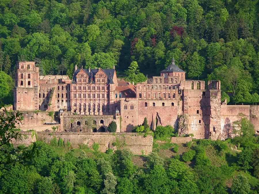 Замки Германии. Гейдельбергский замок - Heidelberger Schloss