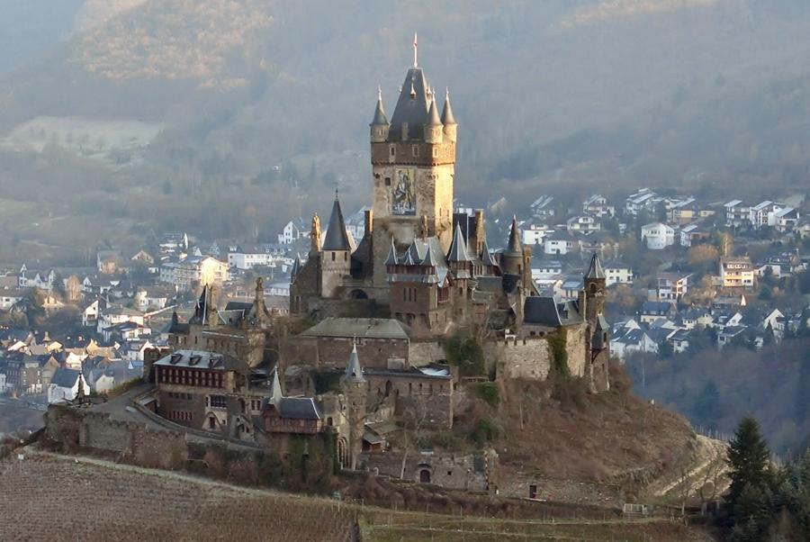 Замки Германии. Имперский замок в Кохеме - Reichsburg Cochem