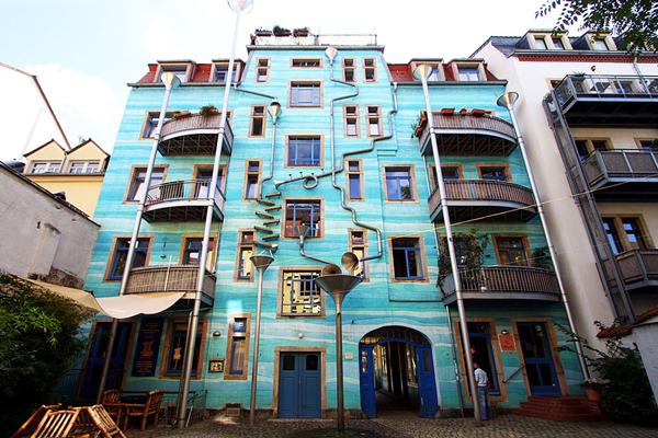 Поющий дом в Дрездене