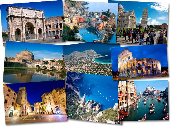 Достопримечательности и  самые красивые места Италии