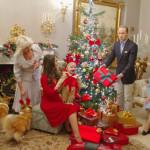 Рождество в кругу королевской семьи