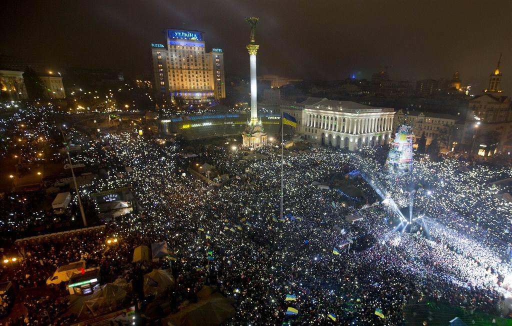 Новый Год 2014 Киев
