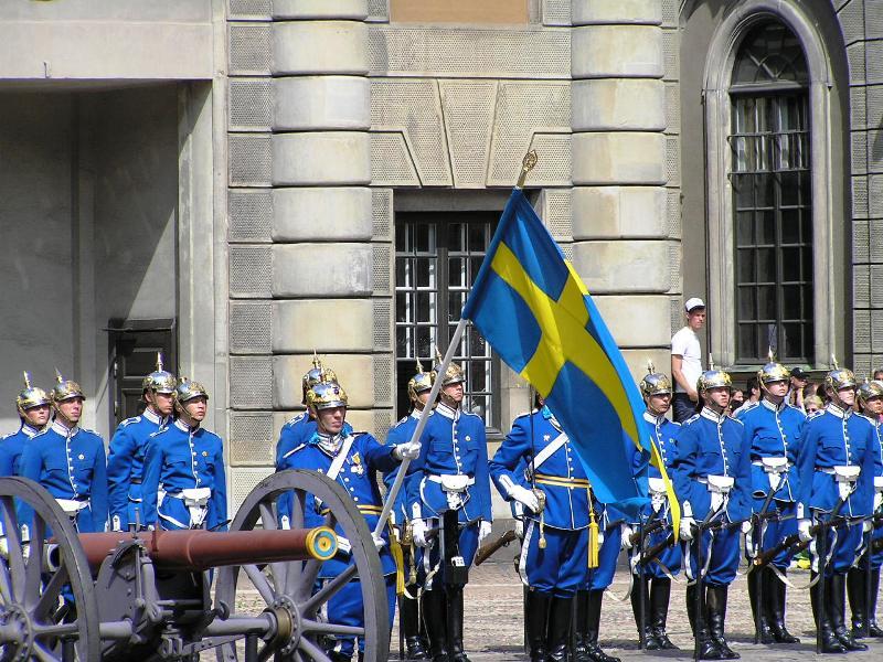 Достопримечательности Швеции: Королевский дворец в Стокгольме