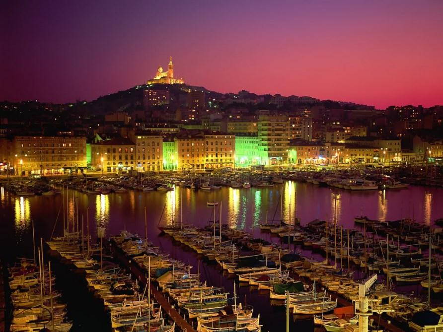 Достопримечательности Марселя, ночной город