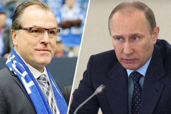 Путин пригласил футболистов в Москву