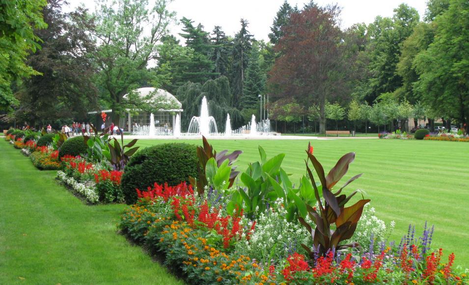 Сад в Подебрадах