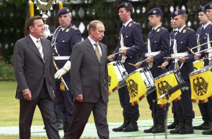 Путин в Берлине, 2000 г.