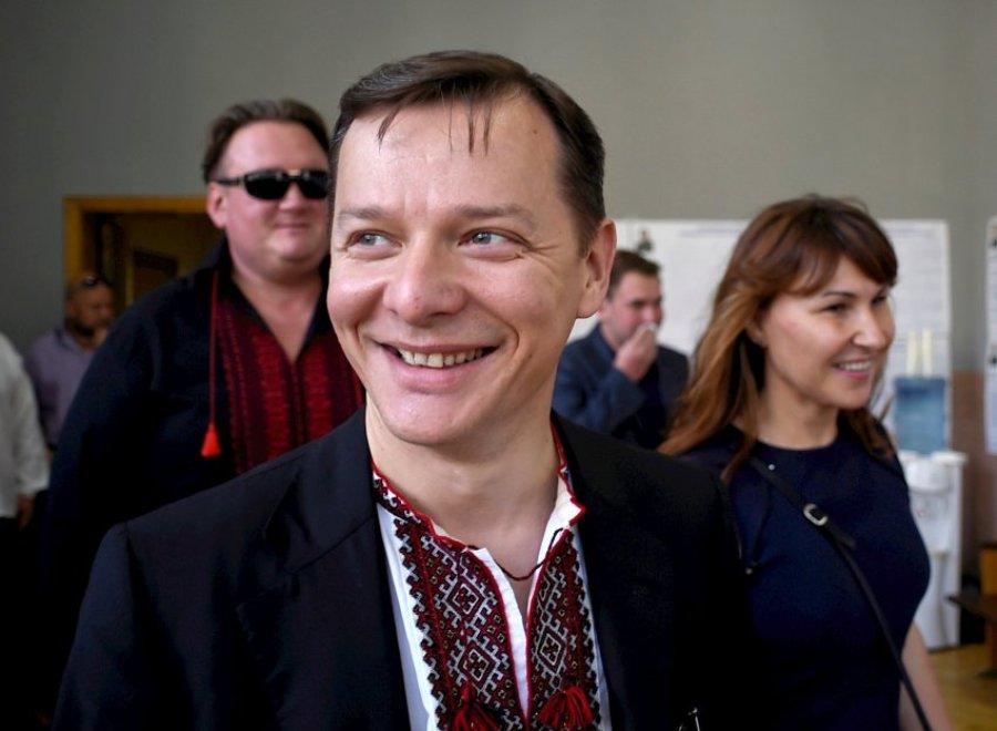 Кандидат в президенты Олег Ляшко