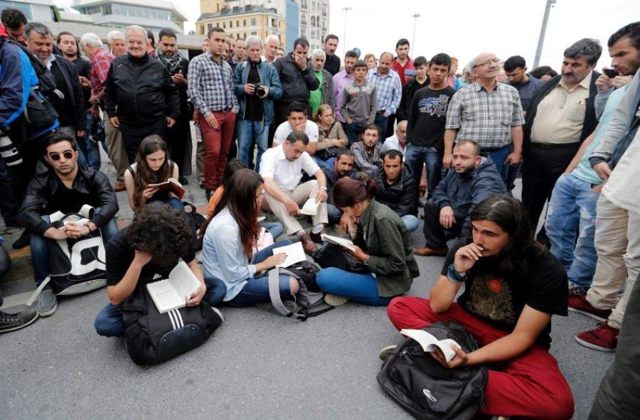 Протест в Стамбуле