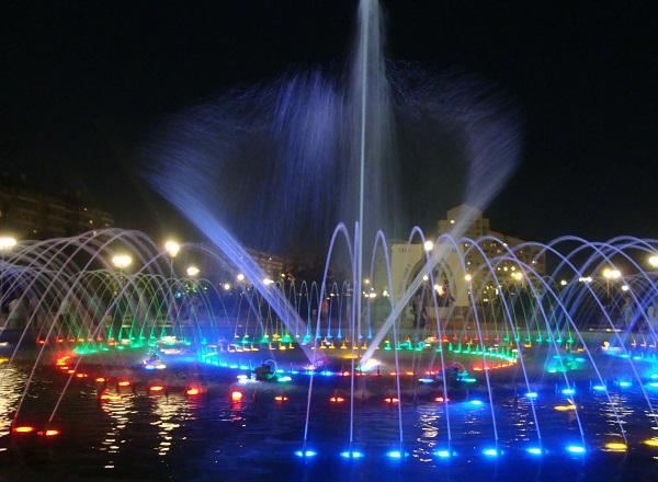 фонтан в Белгороде