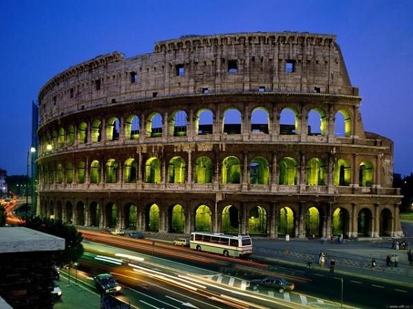Италия. Колизей