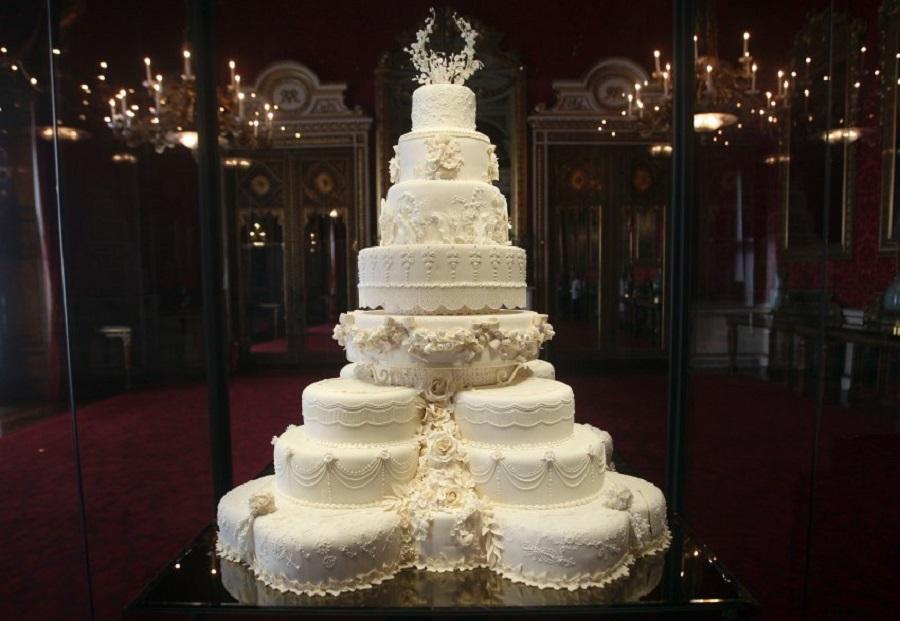 Королевский свадебный торт