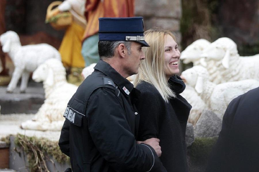 """Акция """"Фемен"""" в Ватикане"""