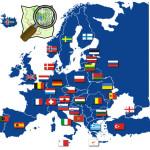 Европейские страны в Яндексе