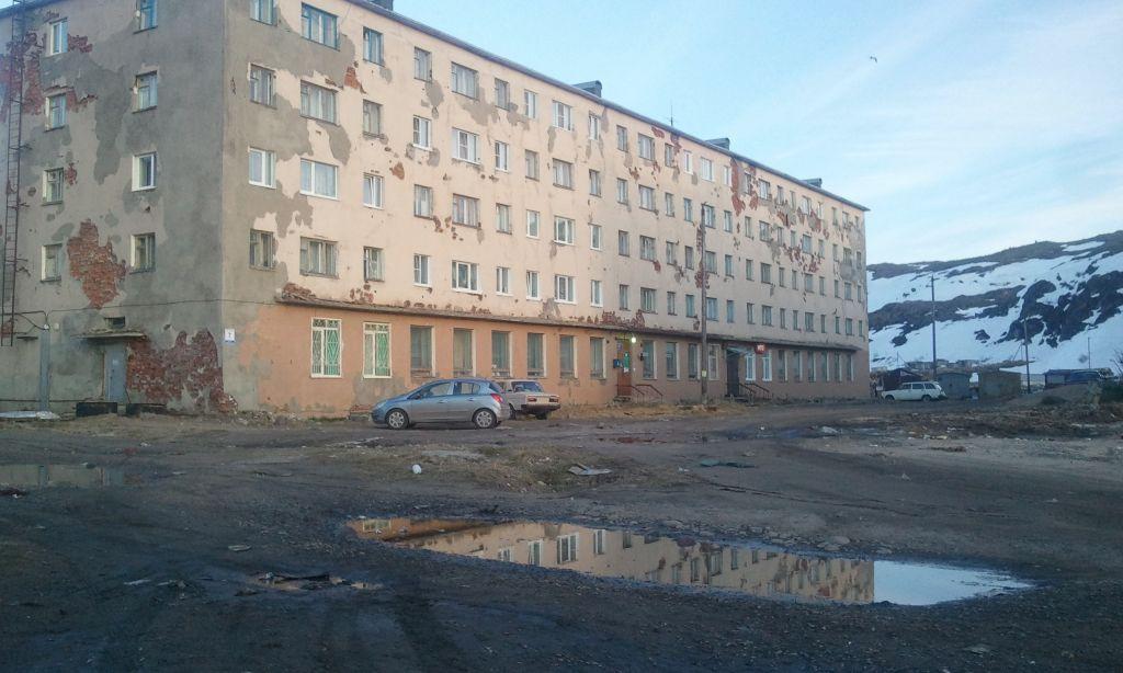 Териберка, поселок в Мурманской обл.