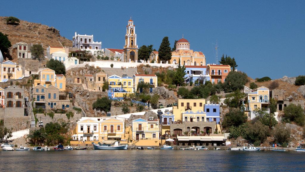 Остров Сими Греция