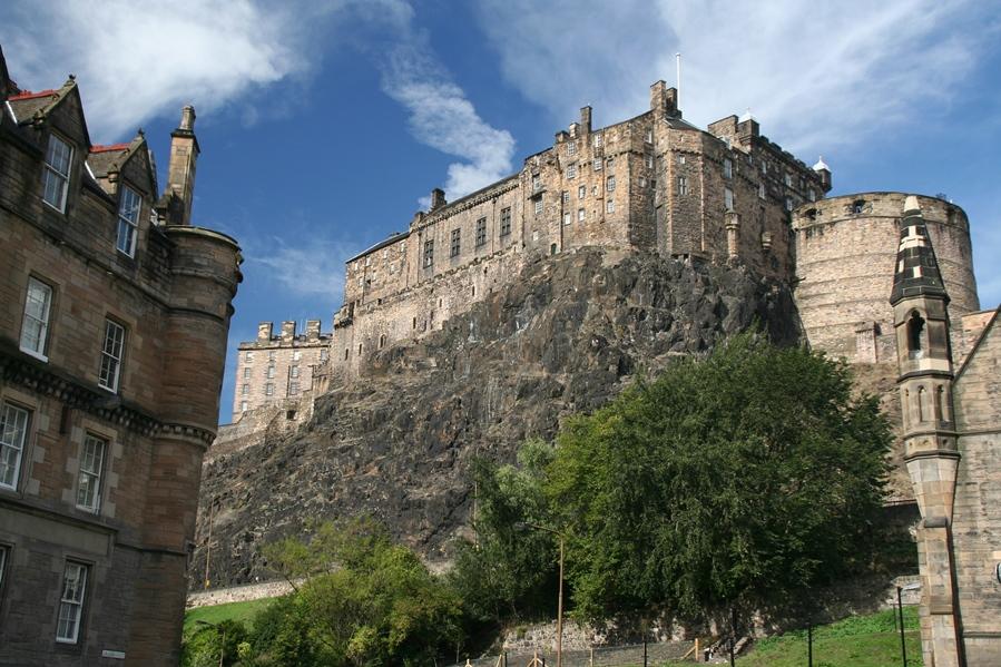 Достопримечательности Великобритании. Эдинбургский замок