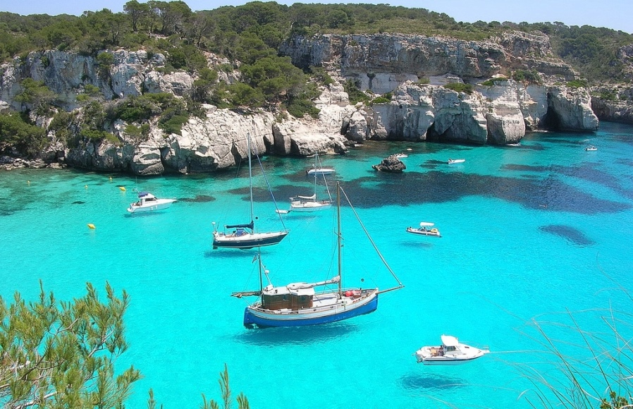 Самые красивые места Испании, остров Менорка