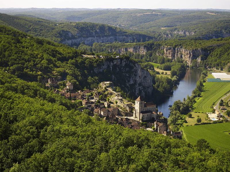 Самые красивые места Франции, деревня Сент-Сирк-Лаполи