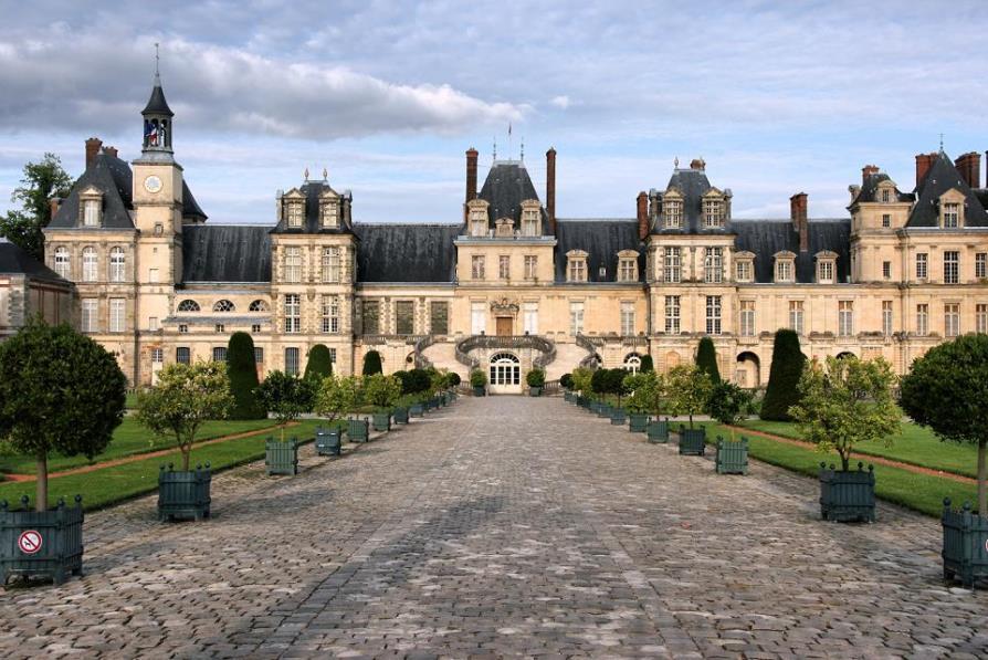 Самые красивые места Франции, дворец Фонтенбло