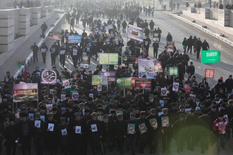 Протест в Чеченской Республике