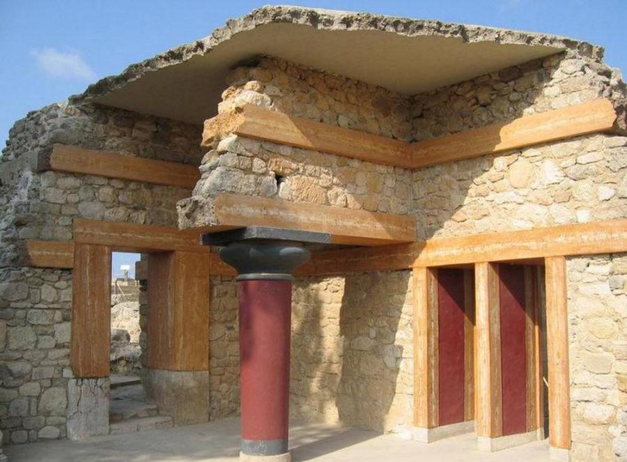 Кносский Дворец, Остров Крит. Достопримечательности Греции