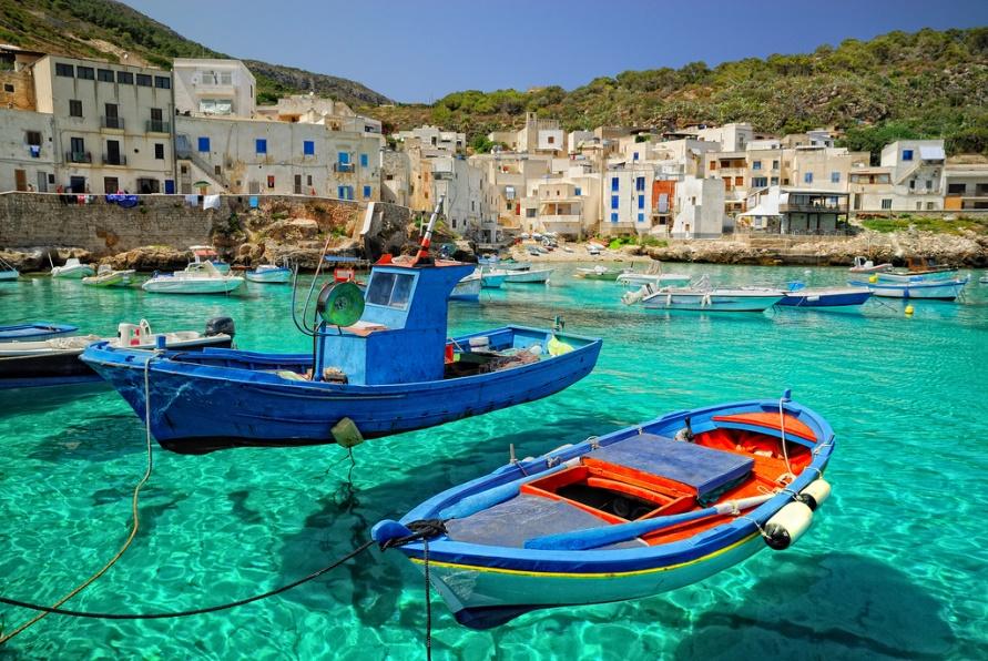 Самые красивые места Италии, остров Леванцо