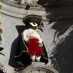 Достопримечательности Бельгии. Скульптура Писающего мальчика в Брюсселе