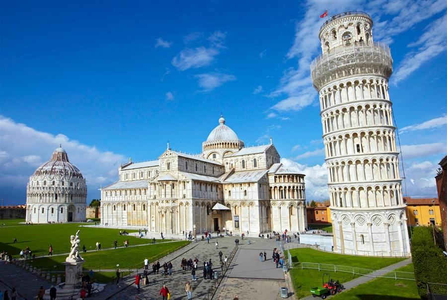 Самые красивые места Италии, Пизанская башня
