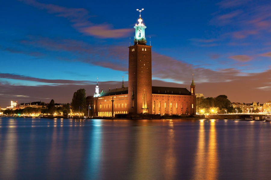 Достопримечательности Швеции. Стокгольмская ратуша