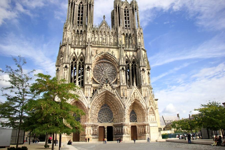 Самые красивые места Франции, Реймсский собор
