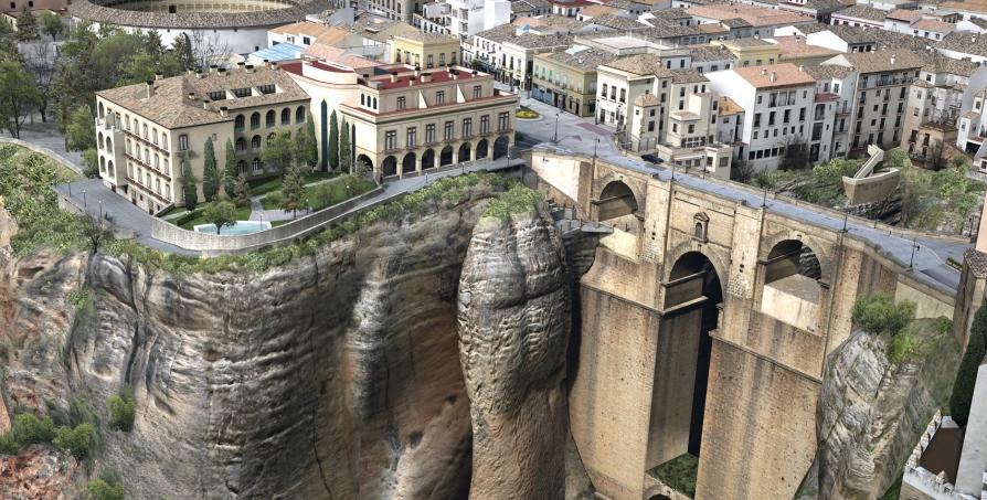 Самые красивые места Испании, город Ронда