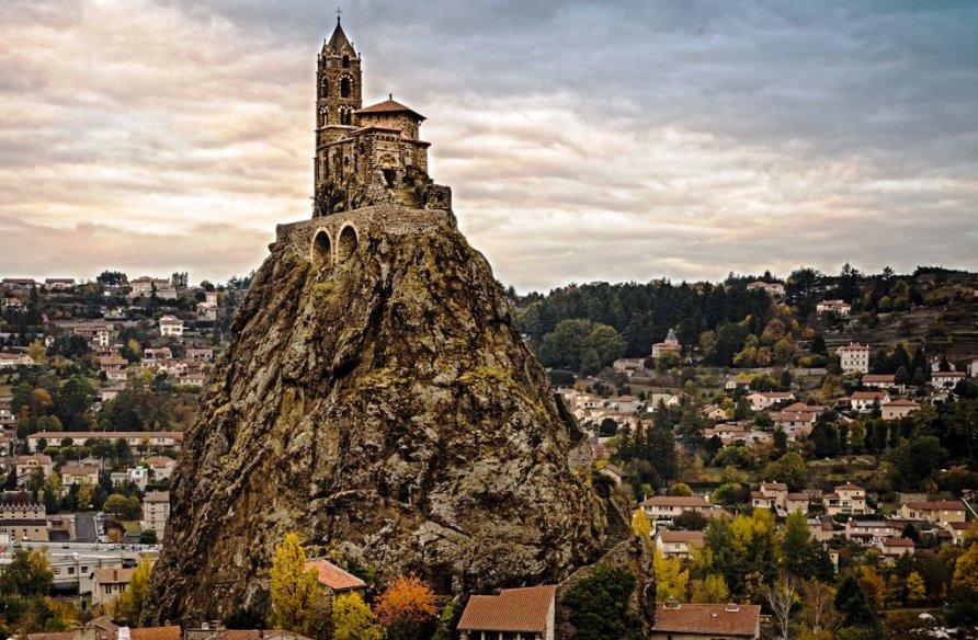 Самые красивые места Франции, часовня Сен-Мишель