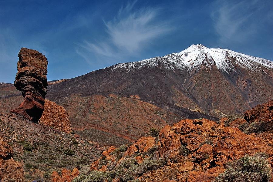 Самые красивые места Испании, вулкан Тейде на острове Тенерифе