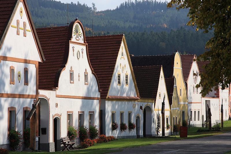 Деревня Голашовице - самое сердце Чехии