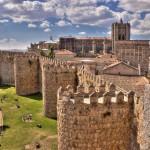 Старинный испанский город Авила