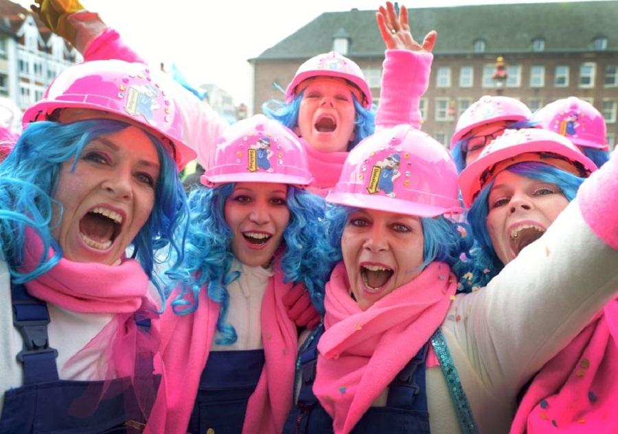 Сезон карнавалов в Германии