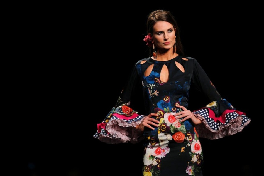 Международный салон моды фламенко