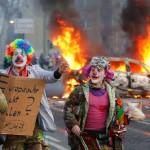 Протест во Франкфурте