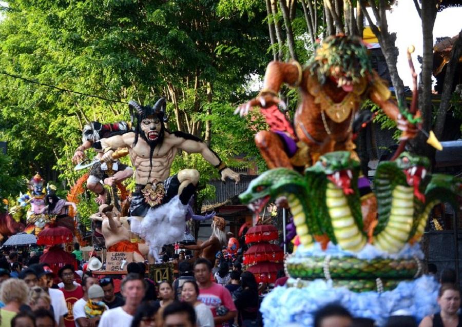 INDONESIA-RELIGION-HINDU-NEWYEAR