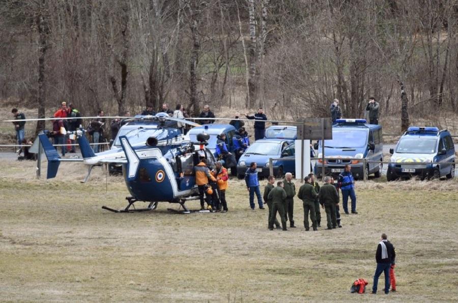 Авиакатастрофа во Франции