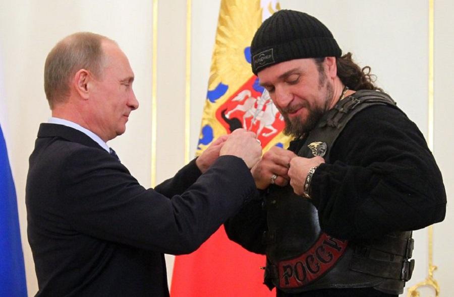 Александр Залдостанов и Владимир Путин