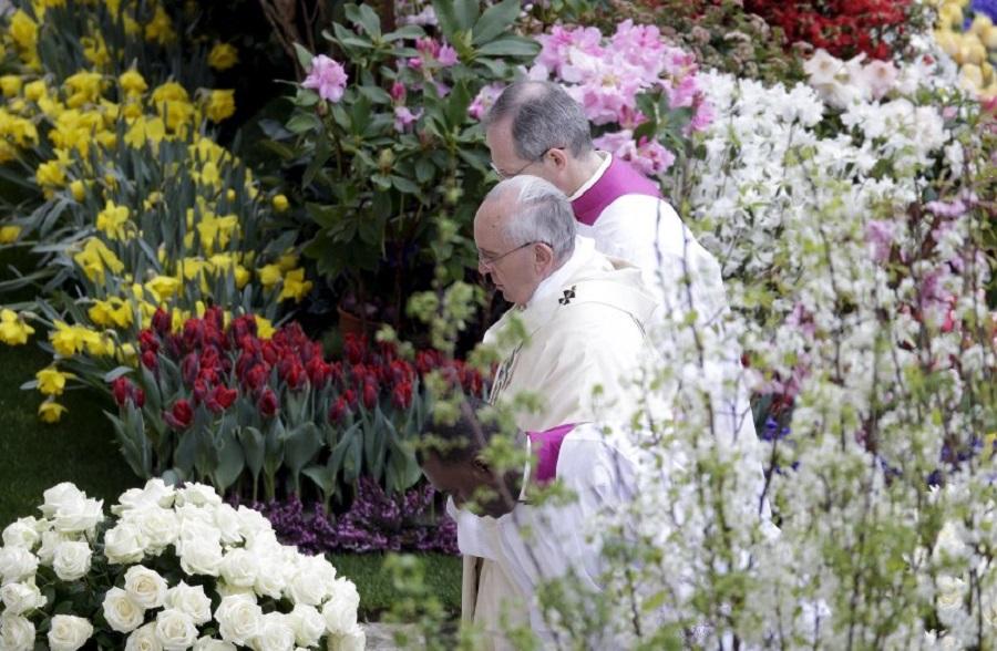 Пасхальное богослужение Папы Римского