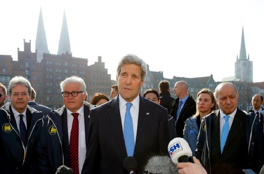 Встреча глав МИД G7